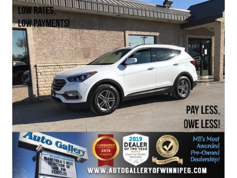 2017 Hyundai Santa Fe Sport *Accident-Free/B.tooth/Back.Cam/Htd Seats #24369