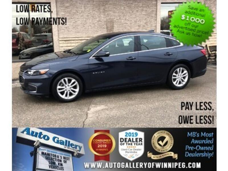 2017 Chevrolet Malibu LT *Bluetooth/Back.Cam #24111