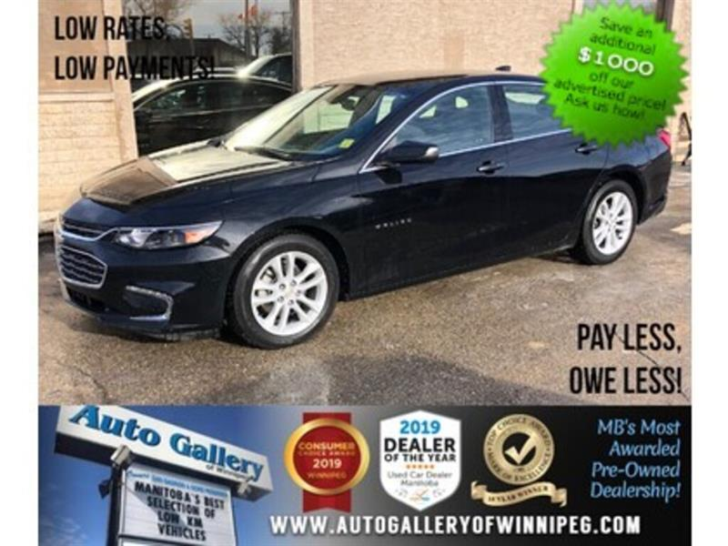 2018 Chevrolet Malibu LT *Bluetooth/Back.Cam #24113