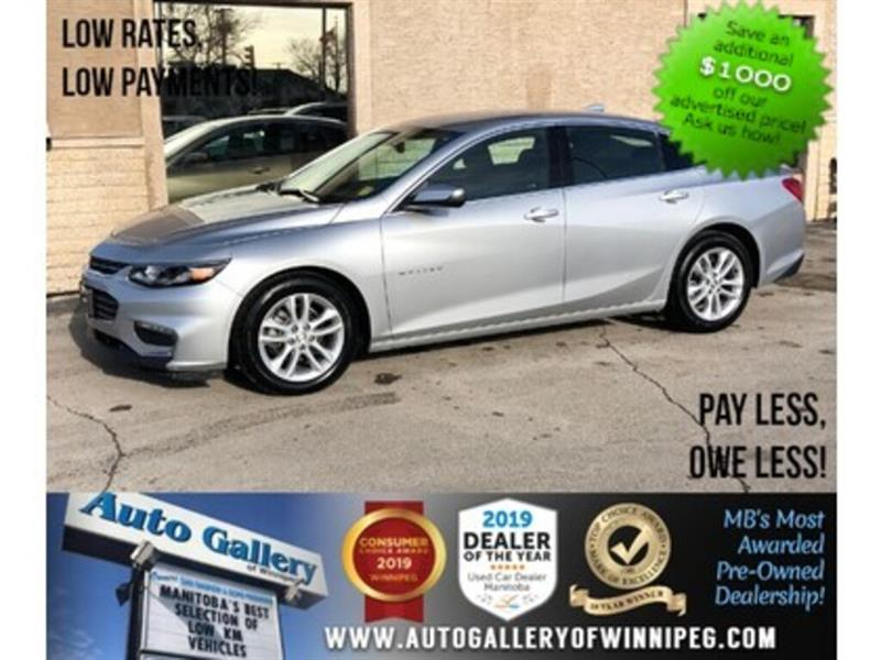 2018 Chevrolet Malibu LT *Bluetooth/Backup Camera #24132