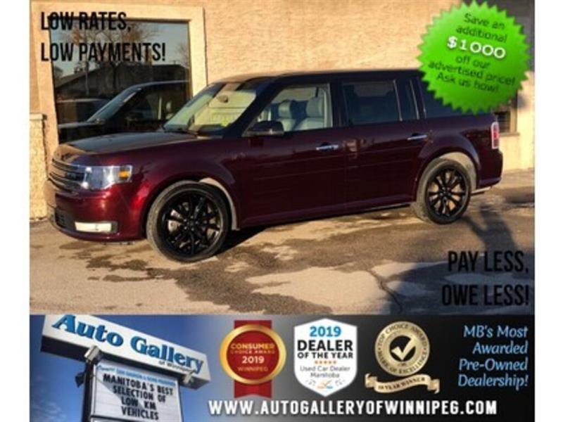 2019 Ford Flex SEL *AWD/Navi/B.tooth/Pano Roof/Htd Lthr/7Pass #24151