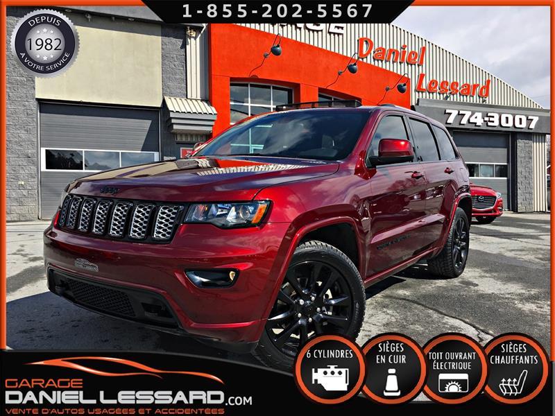 Jeep Grand Cherokee 2018 ALTITUDE IV, * BLACK EDITION *, 4 X 4, TOIT, GPS #80124