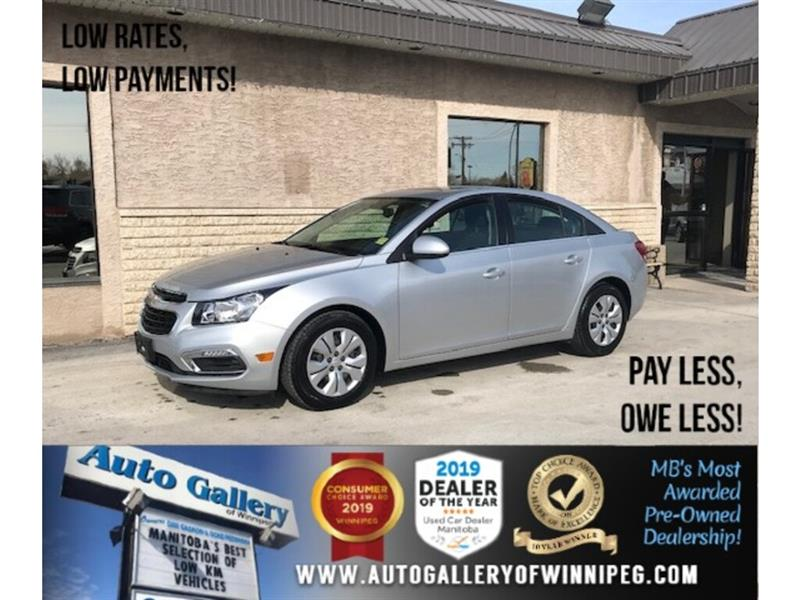 2016 Chevrolet Cruze LT *Turbo/B.tooth/B.cam/Sunroof #24322a