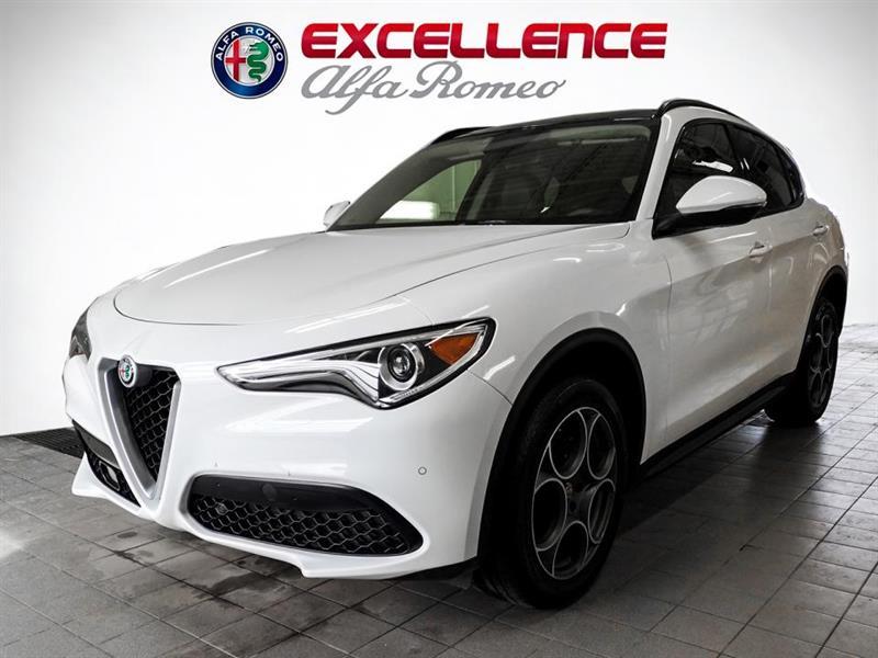 Alfa romeo Stelvio SPORT AWD TOIT PANO + CUIR + N 2018