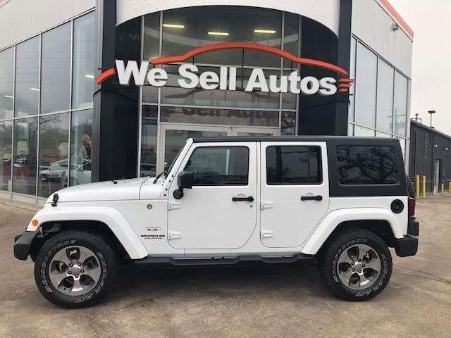 2017 Jeep Wrangler Unlimited Sahara #17JW55034