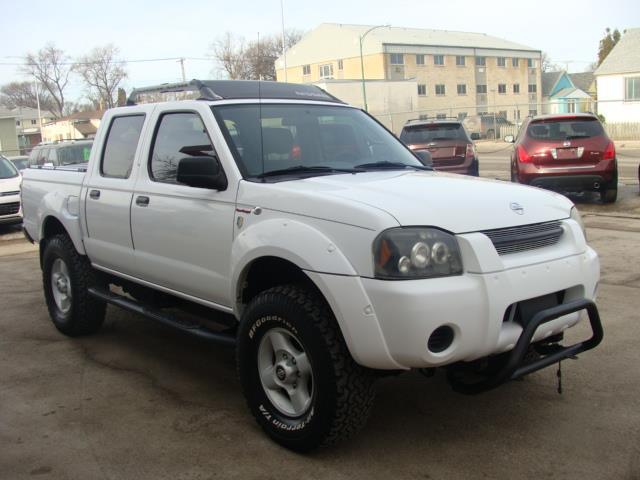 2002 Nissan Frontier 4WD FRONTIER  4X4 SVR SC