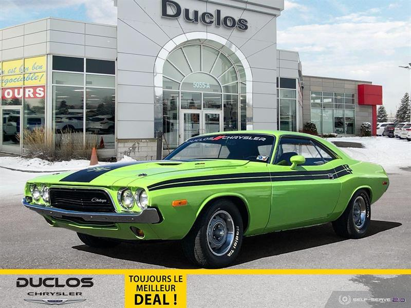 Dodge Challenger RT LEATHER INTERIOR AUTOMATIC 1972