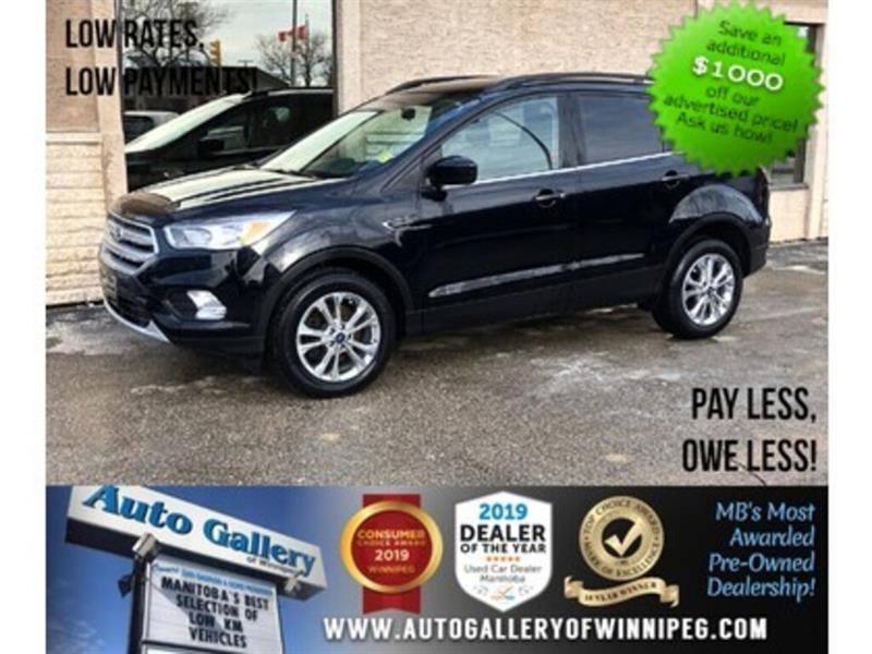 2018 Ford Escape SE *ONLY 250 KMs! AWD/B.tooth/Back.Cam/Htd Seats #23558