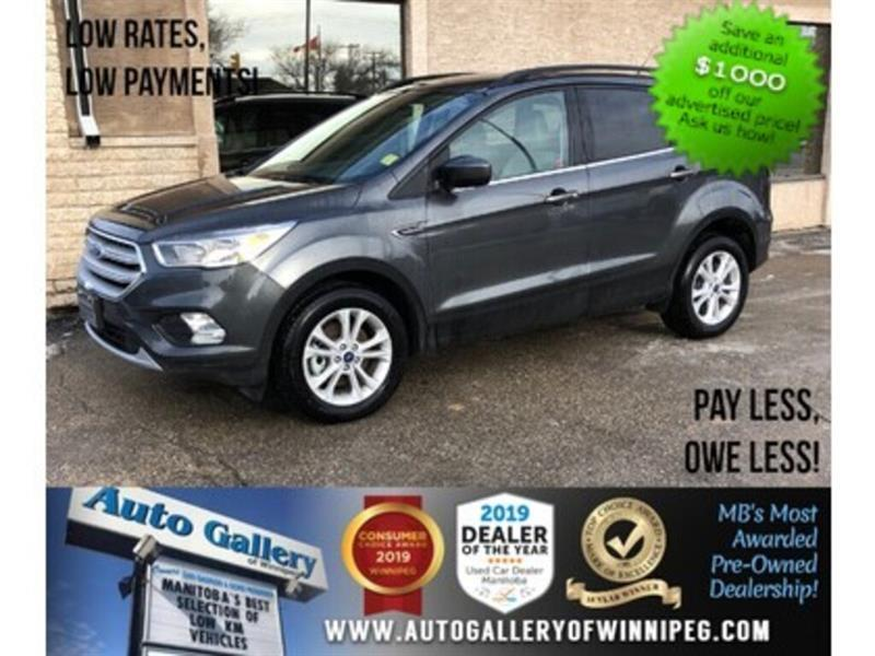 2018 Ford Escape SE *ONLY 59KMs! AWD/Bluetooth/Htd Seats #23881