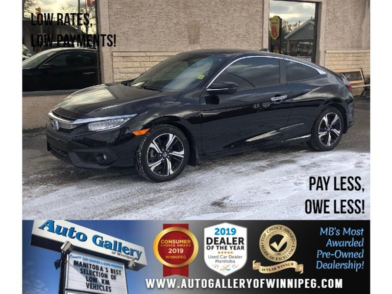 2017 Honda Civic Coupe Touring *Navi/Htd Lthr/B.tooth/Back.Cam/Roof #24053