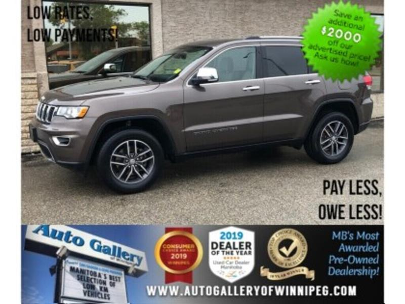 2018 Jeep Grand Cherokee Limited *4x4/Htd Lthr/B.tooth/Back.Cam #24102