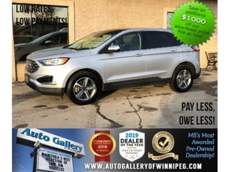 2019 Ford EDGE SEL* AWD/Navi/B.tooth/Htd Seats/Pano Roof #24186