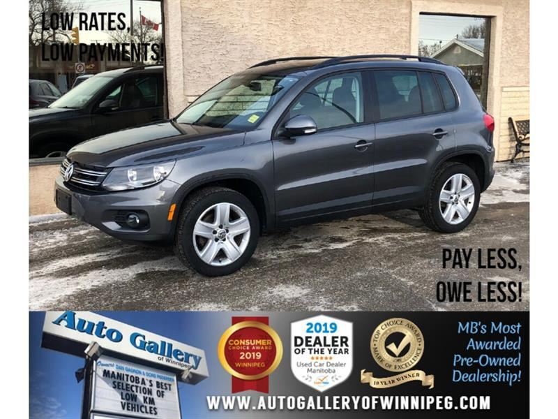 2016 Volkswagen Tiguan Highline *4WD/Navi/B.tooth/Htd Lthr/Pano Roof #24212