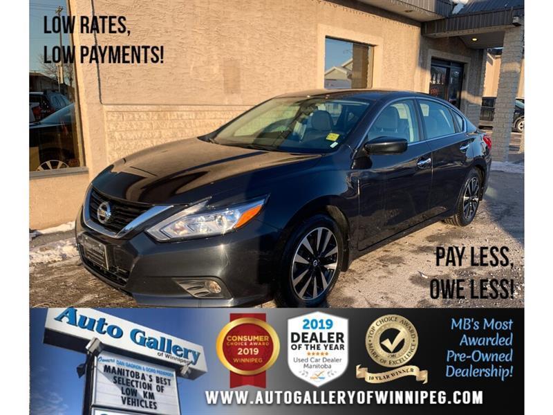 2018 Nissan Altima SV *Bluetooth/B.Cam/Htd Seats/Roof/B.Spot #24279