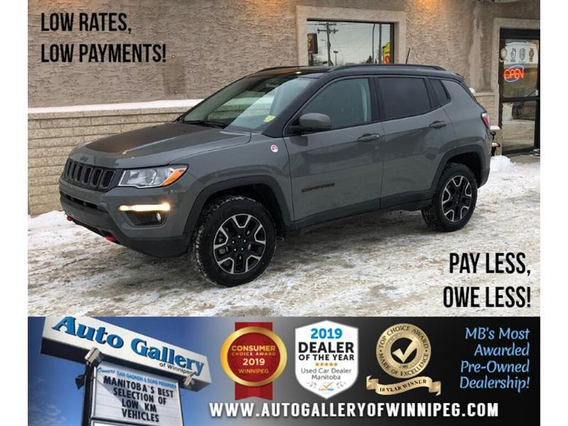 2019 Jeep Compass Trailhawk *AWD/Navi/B.tooth/Htd Lthr/Pano Roof #24289