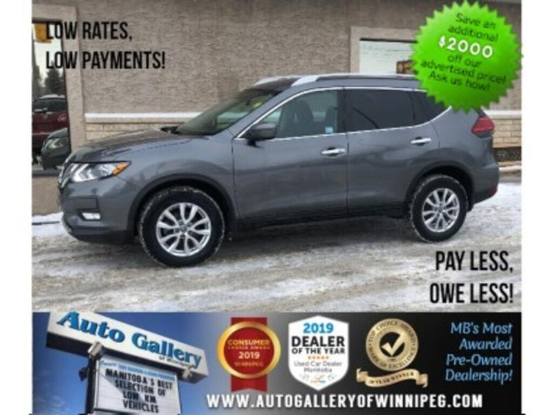 2017 Nissan Rogue SV *AWD/B.tooth/Back.Cam/Htd Seats #24064