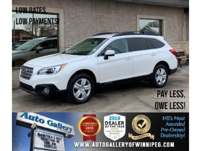 2016 Subaru Outback 2.5i *AWD/B.tooth/B.Cam/Htd Seats/Roof #24307