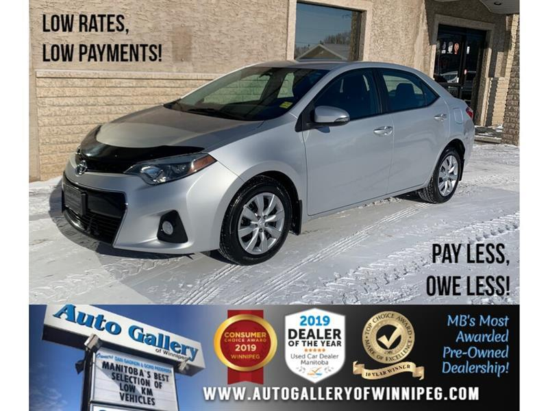 2014 Toyota Corolla S *Local Trade/Bluetooth/Back.Cam/Htd Seats #23824A