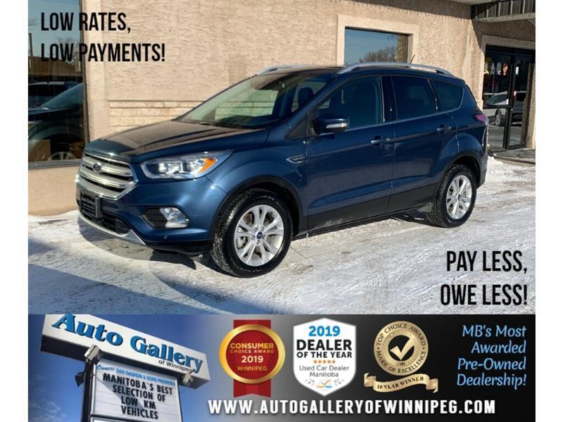 2018 Ford Escape Titanium *AWD/Nav/B.tooth/B.Cam/Htd Lthr/Pano Roof #24313