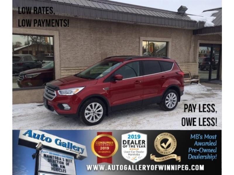 2019 Ford Escape SEL *AWD/Navi/B.tooth/Back/Cam/Htd Lthr/Pano Roof #24311