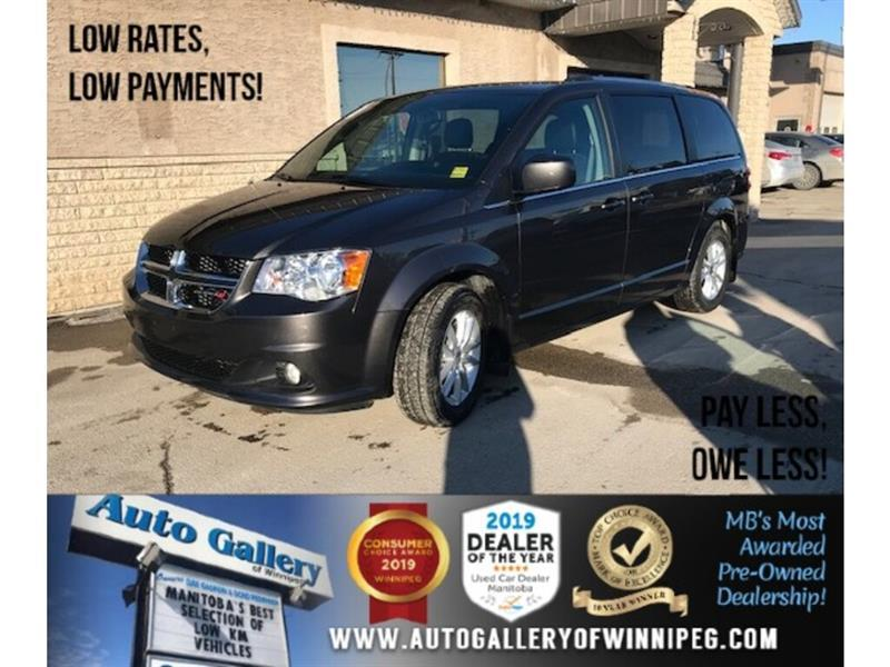 2019 Dodge Grand Caravan SXT *Navi/DVD/7Pass/V6 #24325