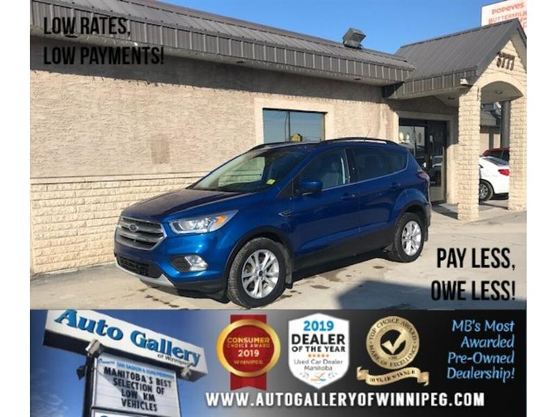 2017 Ford Escape SE *Acc-Free/B.tooth/Back.Cam/Htd Seats/Ecoboost #24328