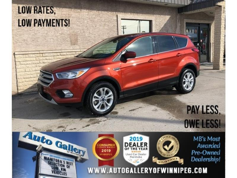 2019 Ford Escape SE *Acc-Free/B.tooth/Back. Cam/Heated Seats #24346