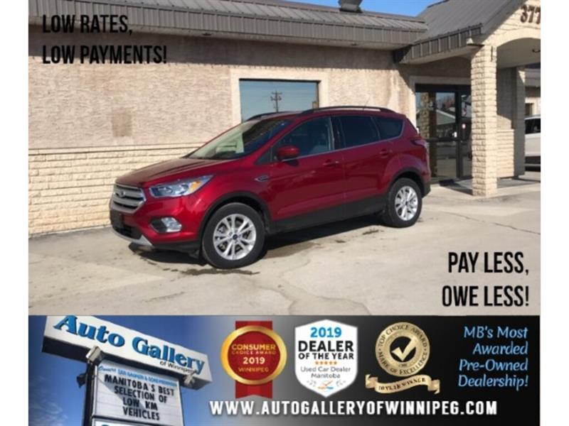 2018 Ford Escape SE *AWD/Htd Seats/B.tooth/Back.Cam #24351