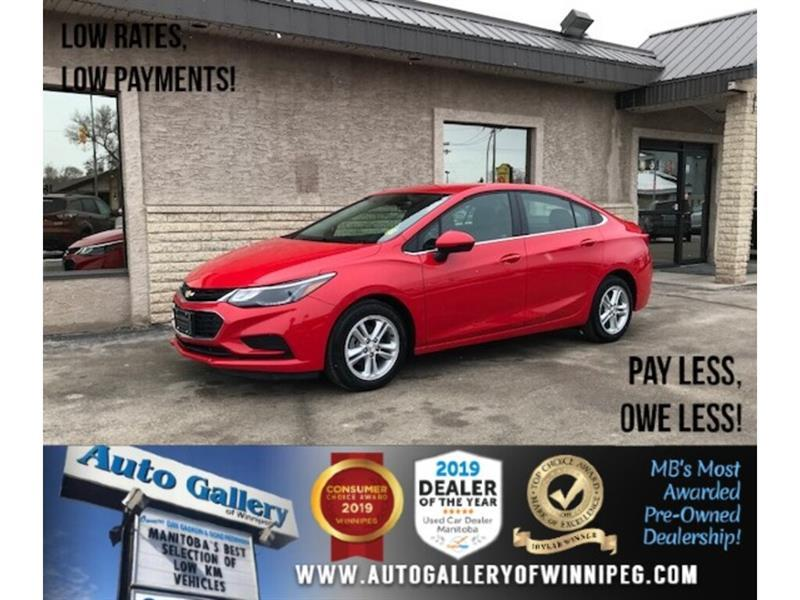 2018 Chevrolet Cruze LT *MB Unit/Bluetooth/Back.Cam #24350