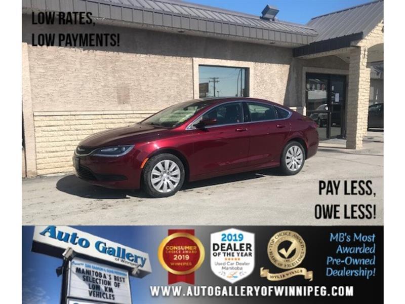 2015 Chrysler 200 4dr Sdn LX *MB Unit/Acc-Free/B.tooth/9Spd #24372
