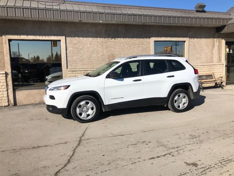 2017 Jeep Cherokee V6 Sport  *SAVE over $13,000 from new MSRP ! #24374