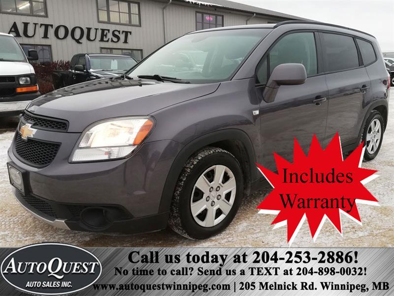 2012 Chevrolet Orlando 4cyl 2.4L 4dr Wgn #9385