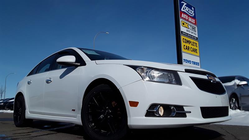 2012 Chevrolet Cruze LTZ Turbo #P680