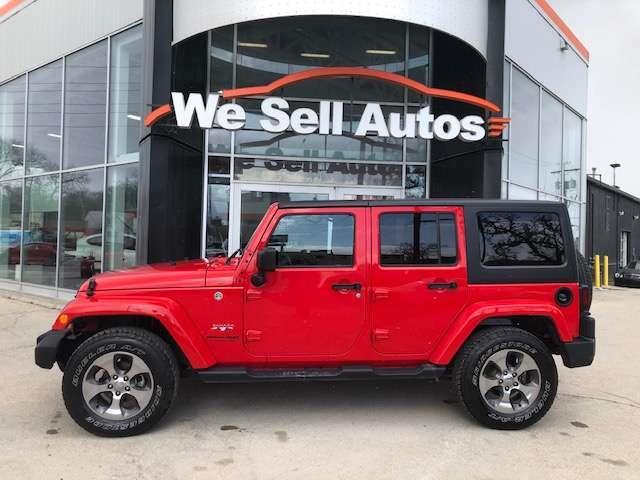 2018 Jeep Wrangler JK Unlimited Sahara #UD007