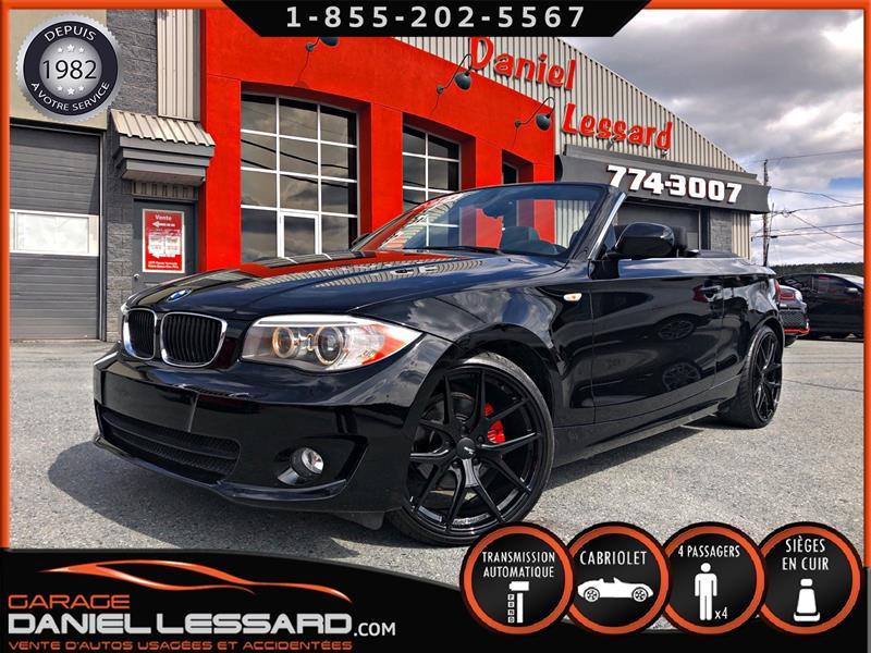 2013 BMW 1 Series 128i CONVERTIBLE, 65314 KM, SHOWROOM!!!  #39495