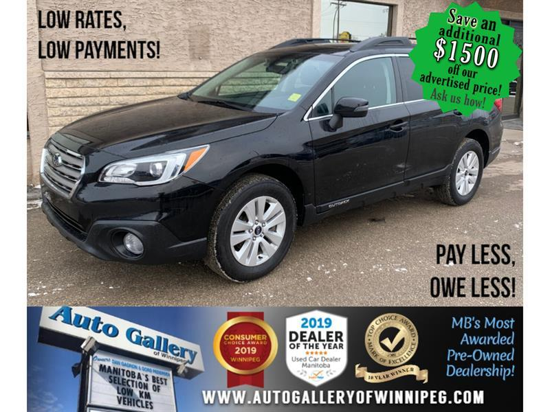 2017 Subaru Outback Touring *AWD/B.tooth/Htd Seats/Eyesight Tech #24206