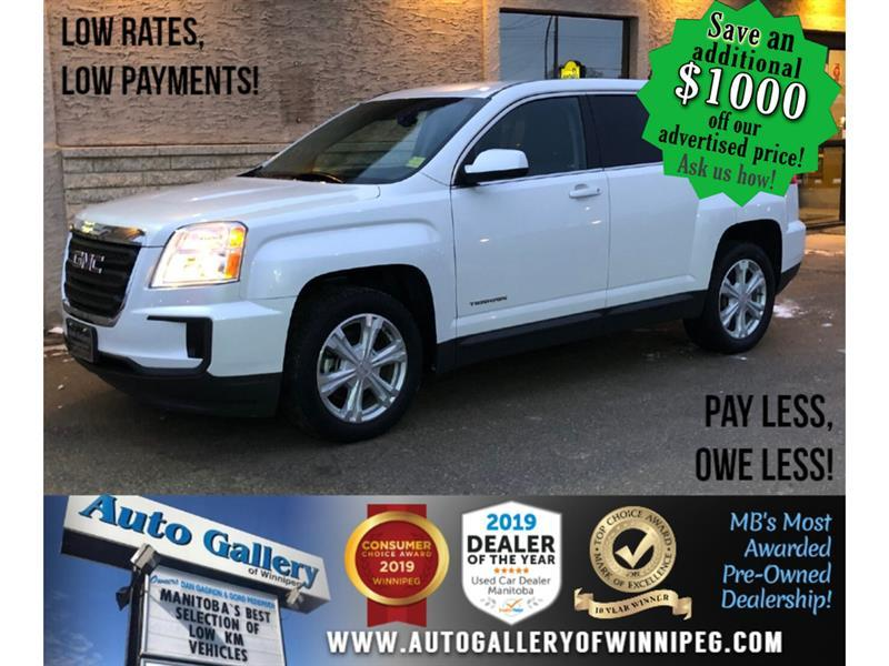 2017 GMC Terrain SLE *MB Unit/AWD/Bluetooth/Back.Cam/Alloys #24250