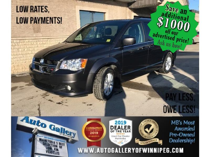 2019 Dodge Grand Caravan SXT *Navi/DVD/7Pass/V6 #24325