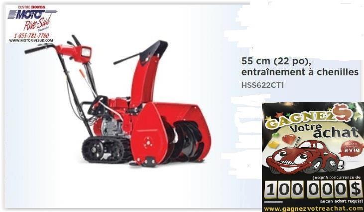 Honda HSS622CT1 2020