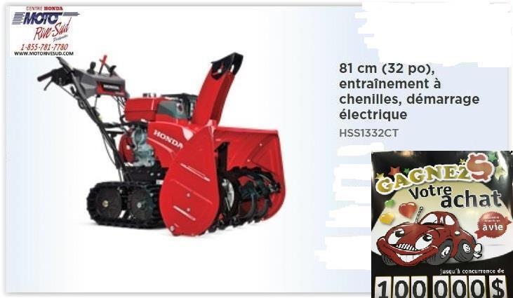 Honda HSS1332CT 2020