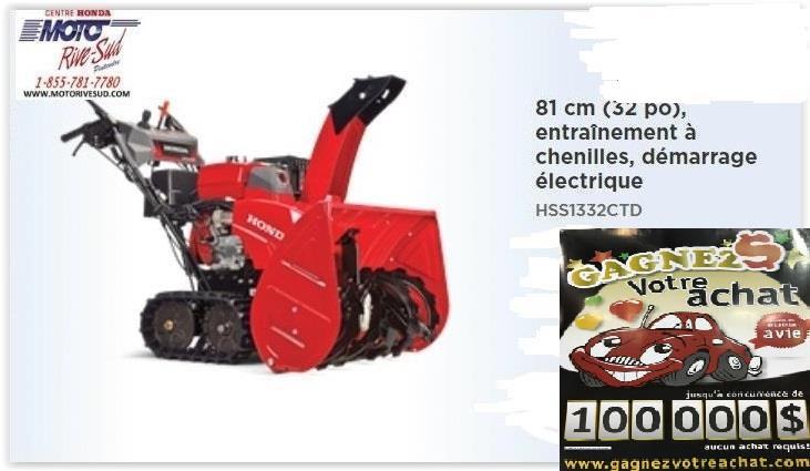 Honda HSS1332CTD 2020