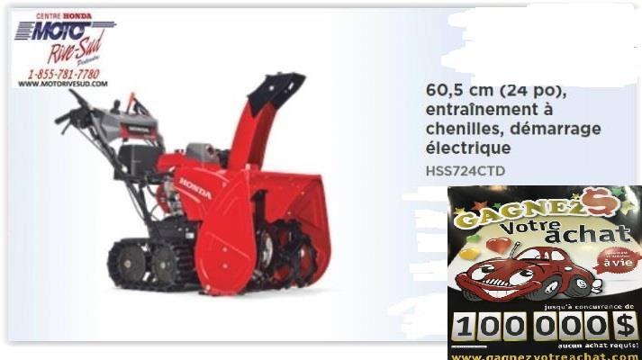 Honda HSS724CTD 2020
