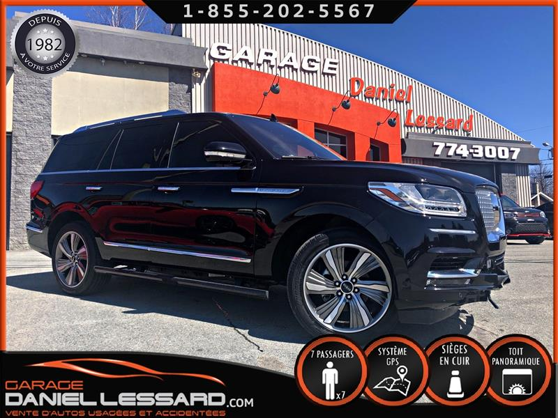 Lincoln Navigator 2019 ULTRA, 7 PLACES, MAG 22 P, TOIT PANO  #90147