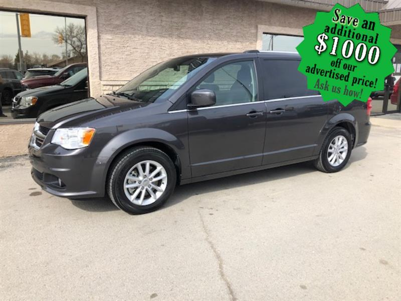 2019 Dodge Grand Caravan SXT Premium Plus IMMACULATE/ONLY 7,038 KMS !!! #24394