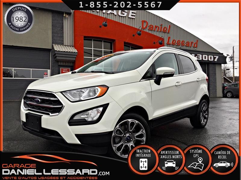 Ford EcoSport 2019 WOW 000583 KM!!, TITANIUM, AWD, 2.0,  #99174