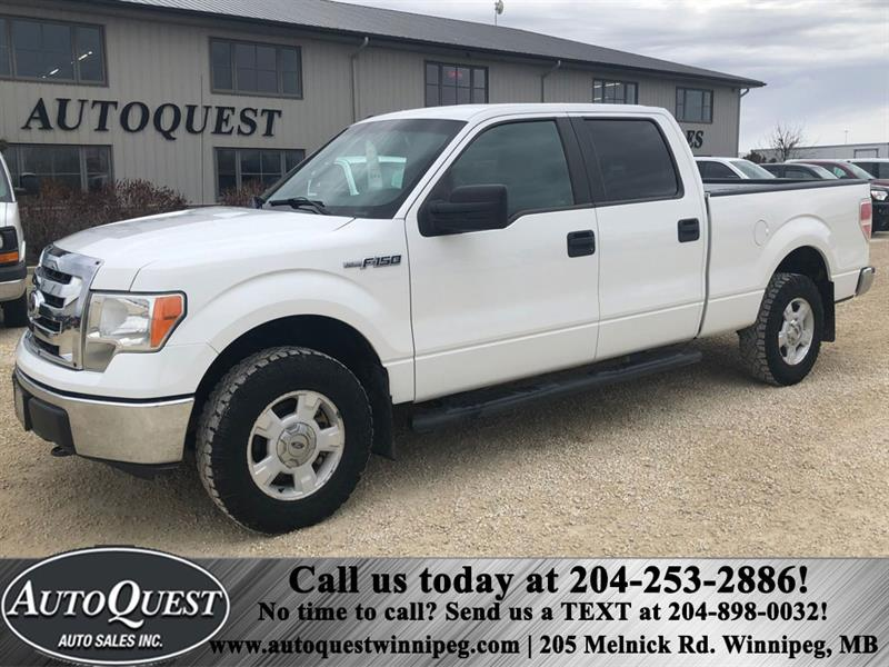 2012 Ford F-150 4WD SuperCrew 5.0L V8 #6918