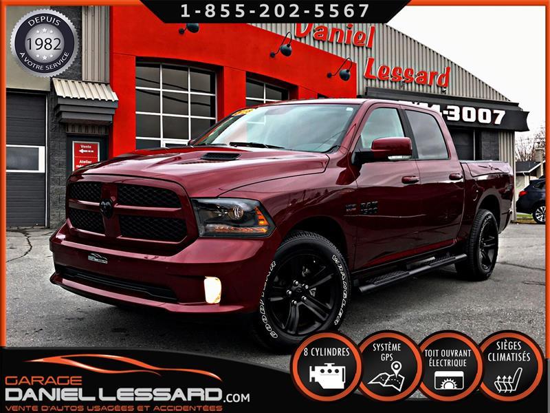Dodge Ram 1500 2018 5197KM!!!, SPORT 4X4, TOUTES LES OPTIONS  #89152