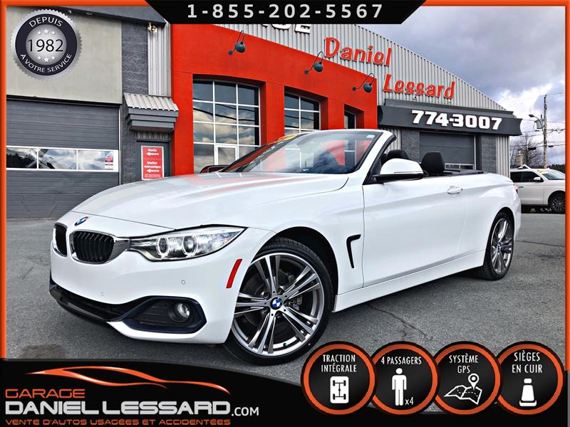 BMW 4 Series 2017 430i XDrive, CONVERTIBLE, BAS KM, CUIR #79641