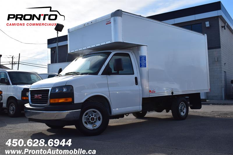 GMC Savana Commercial Cutaway 2020 3500 ** Cube 12 pieds Deck ** RAMPE ** COMME NEUF  #1265