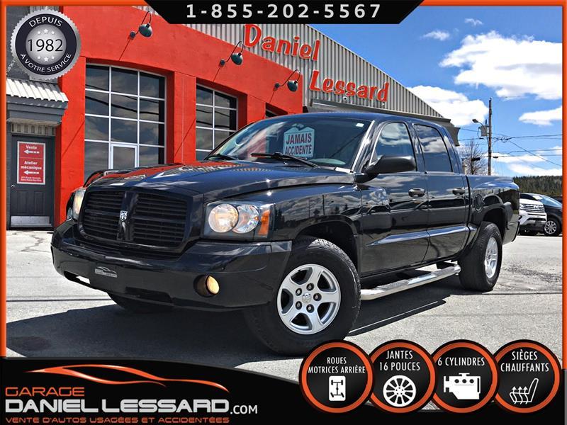 Dodge Dakota 2007 CREWQUAD ST, SIÈGES CHAUFFANT, BAS KM,CLEAN TITLE! #79017